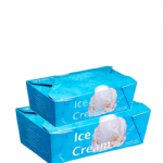 Rectangular Ice Cream Boxes